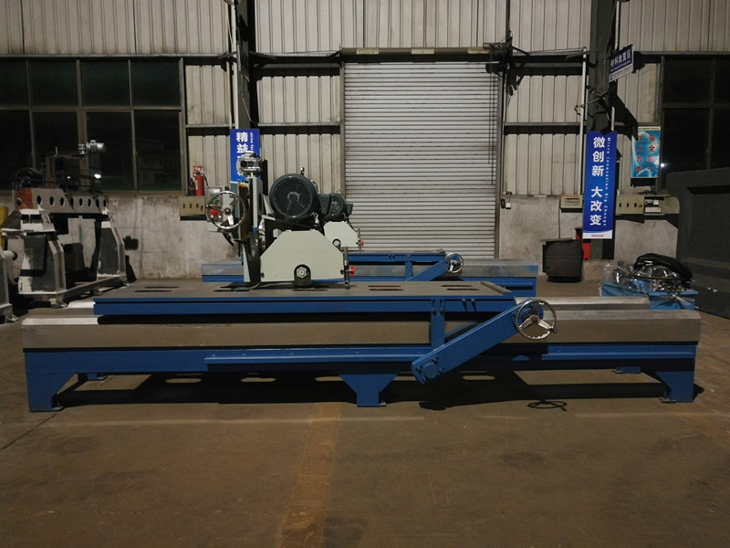 Manual slab edge cutting machine