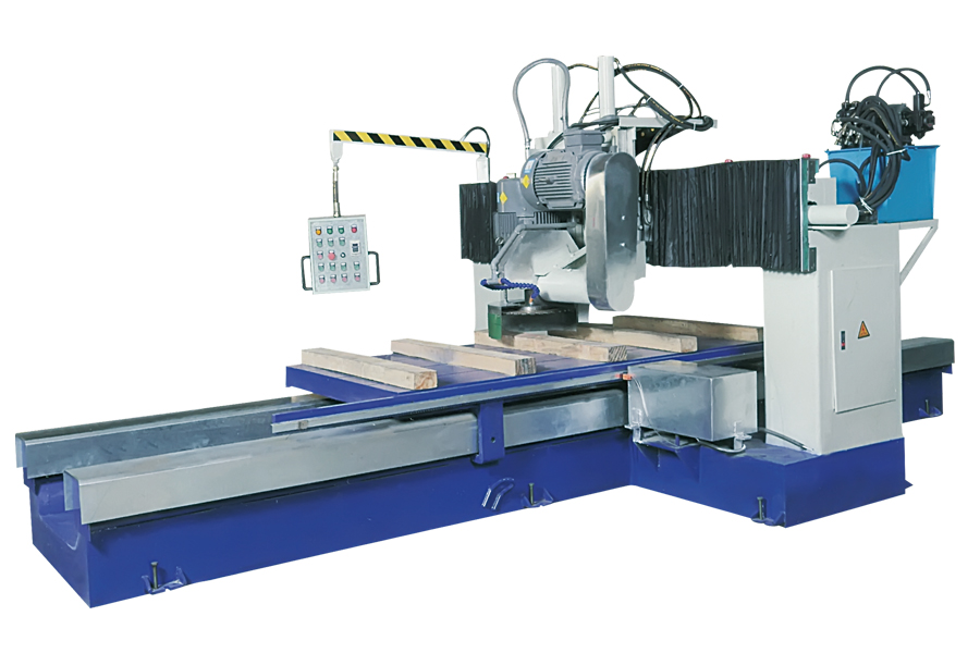 block bottom cutting machine